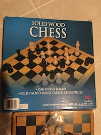 Solid wood Chess