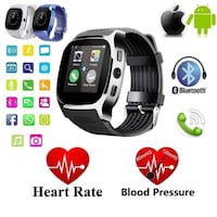 New T8 Bluetooth Smart Watch Support SIM and TFcard Camera For Android iPhone Westminster