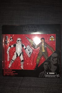 Star Wars The Black Series Poe Dameron/First Order Riot Control