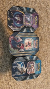 two Pokemon trading card boxes Surrey, V3V