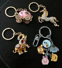 New Rhinestones key chains charms $9 Edmonton, T5N 1L9