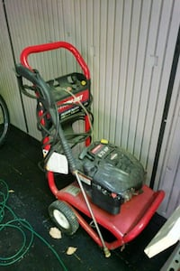 red and black Troy-Bilt pressure washer Allenstown, 03275