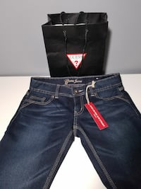 Brand new guess dark jeans