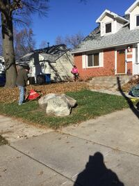 Free quotes... Leaf cleanup , flower bed clean out , tree work & hauling