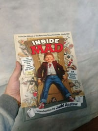 Inside Mad.  A collection of mad magazines best. Kelowna, V1X 3M8