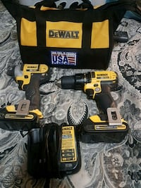 Dewalt cordless drill and impact
