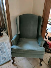 Green velvet arm chairs Markham, L3R 8N8