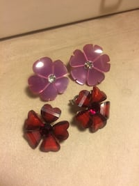 Flower earrings Edmonton, T6E 0N7