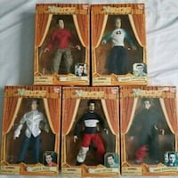 NSYNC Collectible Marionette Doll set 5 rare new Las Vegas, 89144