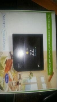 Carrier Xfinity series touchscreen thermostat