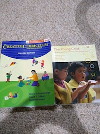 For daycare course 2 books for 45 Beltsville, 20705