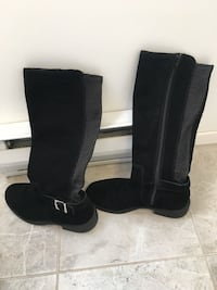 Black suede boots Langley, V3A 1W1