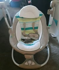 baby's white and gray bouncer Peoria, 85383