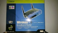 Linksys Wireless-B Broadband Router Silver Spring, 20906