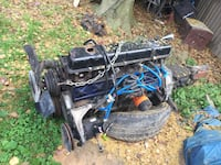 Ford straight 6 4.9  rebuilt  86 motor with 2 trans  Essex, 21221