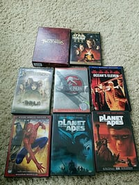 15 DVDs assorted movies  Oakton, 22124