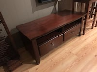 Nice & New wood TV console stand Upland, 91784