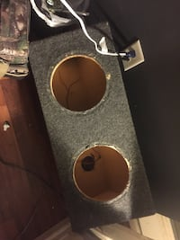brown and gray subwoofer enclosure Spring Hill, 37174