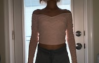Off the shoulder top Silver Spring, 20902
