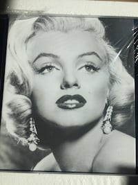 Marilynn Monroe framed canvas White Rock, V4B