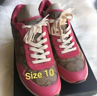 Coach - Pink Sneakers, Size 10 Huntersville, 28078