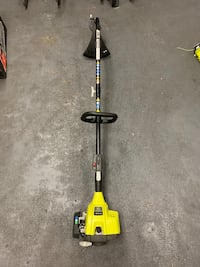 RYOBI 2-Cycle Attachment Capable Curved Shaft Gas String Trimmer $70