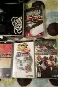 games electronic PSP with case and other gadgets Arlington
