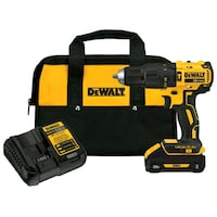 yellow and black DEWALT cordless power drill Savannah, 31410