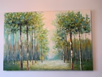 Hand painted Landscape Painting