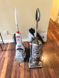Two vacuums Charlotte, 28214
