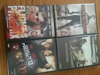 four action movie dvds Ontario, P3A 2R6