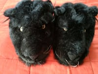 Black panther slippers