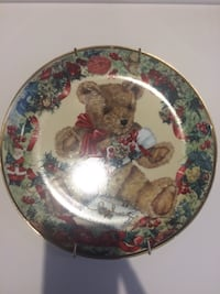 Franklin Mint Collectible Plate Montréal, H8R 2K4
