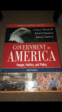 Government in America book Los Angeles, 90026