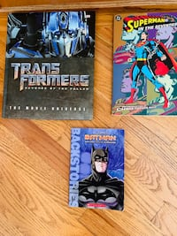 Set of 3 Kids Books: Transformers, DC Comics Superman & Batman , Newer Beaverton, 97007