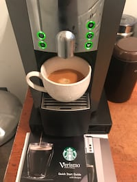 Espresso - Coffee maker - Verismo System by Starbucks Vancouver, V6E