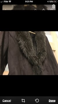 High quality sued rich Brown Jacket Boisbriand, J7H 1S5