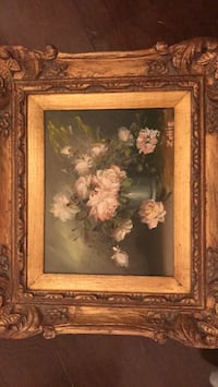 Hand Painted picture with antique frame!  Rockville, 20852