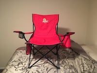 red and black camping chair Humble, 77396