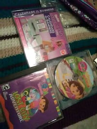 2Dora games and Barbie  2.00 ech orall three for 5.00 Hagerstown