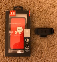 UA iPhone 8/7/6S/6 Phone Case with UA Connect Magnetic Mount Hyattsville