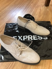 Brand new size 9 EXPRESS dress shoes. Original $98