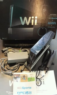 Nintendo Wii w/ 9 games + original box! New Westminster, V3M 3Y3