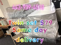 Twin set $79 Baltimore, 21231