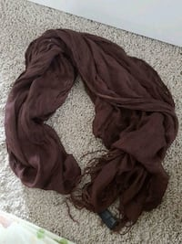 Brown h and m scarf