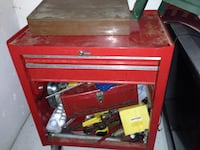 red and black tool chest Kelowna, V1X 7Y8