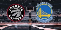 TORONTO RAPTORS VS GOLDEN STATE HARD COPY TICKETS TONIGHT SECTION 118 , ROW 16, SEATS 11,12 CONTACT ASAP!! Mississauga, L5T 2N3