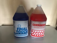Liquids for commercial dishwasher  ( 15 each ) Mississauga, L5R 0E2