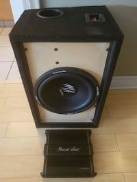 black and gray subwoofer speaker Saskatoon, S7M