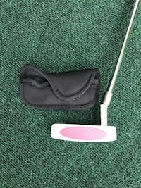 Woman's Square Two Light & Easy 1912 Golf Putter with New Grip
